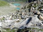 #Steingletscher Anstieg Felsriegel