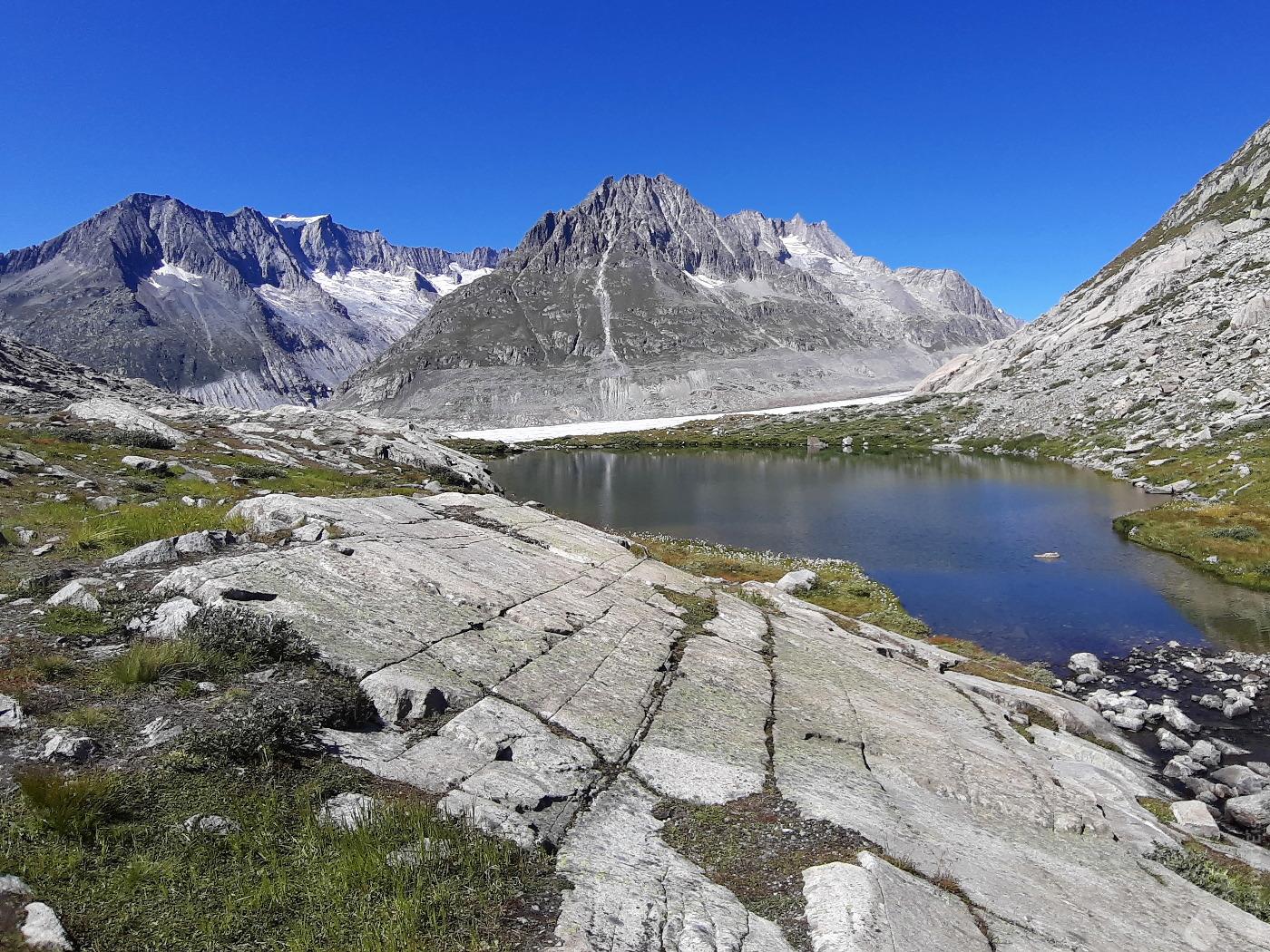 Märjelenensee in den Berner Alpen.