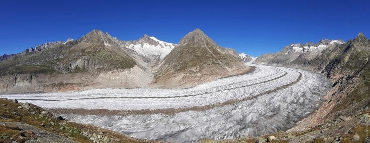 #Gewaltiger Eisstrom Aletschgletscher