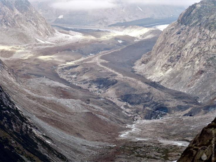 #Oberaargletscher Zusammenfluss Lauteraargletscher Finsteraargletscher 2019