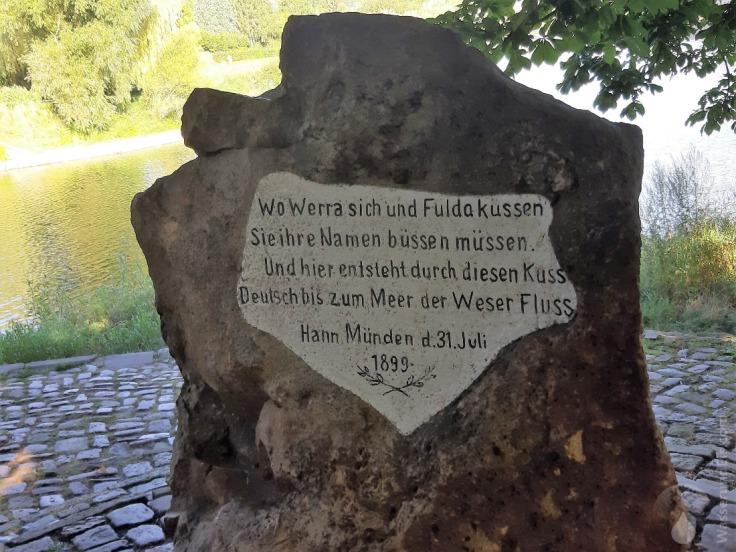 #Weserstein Hann.Münden