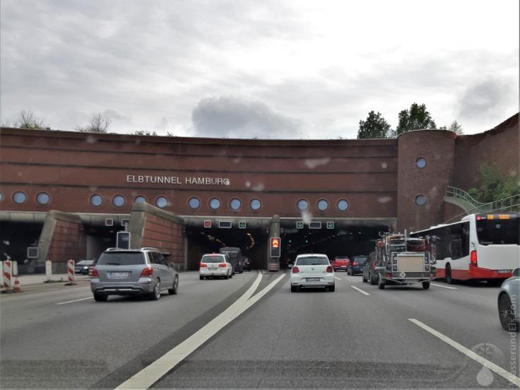 #Stau Elbtunnel Hamburg