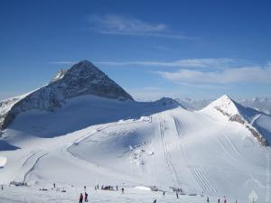 #Gletscherskigebiet Olperer November 2009