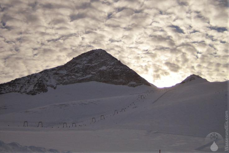 #Olperer Abendlicht Hintertuxer Gletscher November 2010