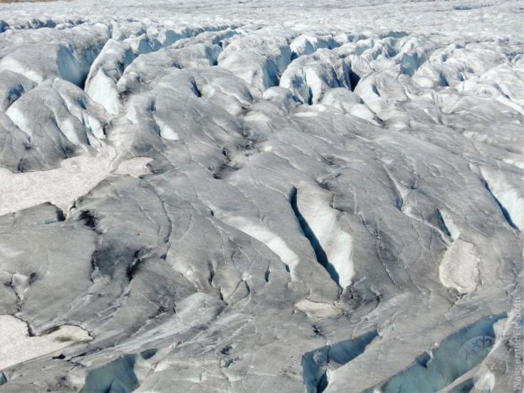 #Gletscherzunge Rhonegletscher Eisformationen September 2019
