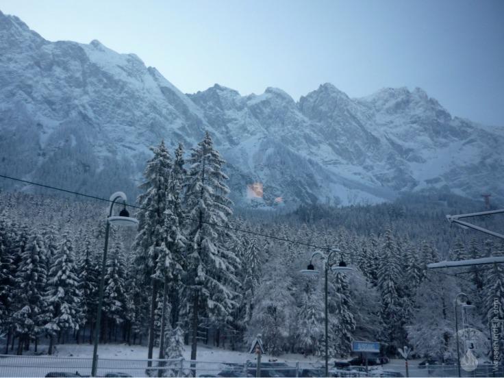 #Zahnradbahn Zugspitzbahn Zugspitze