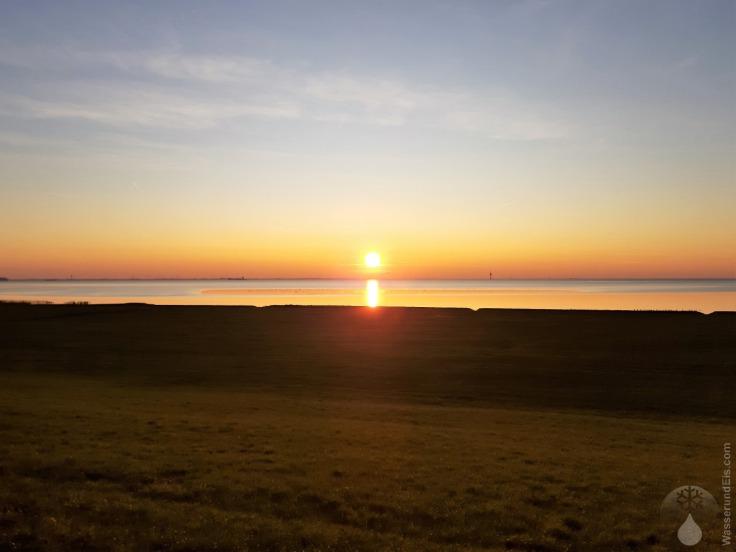 #Solthörn Goldene Stunde Sonnenuntergang 2019
