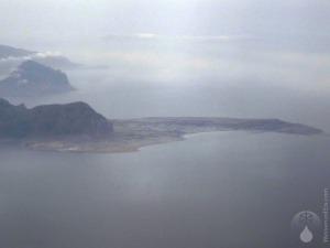 #Sizilien Capo Sand Vito Luftbild 2010