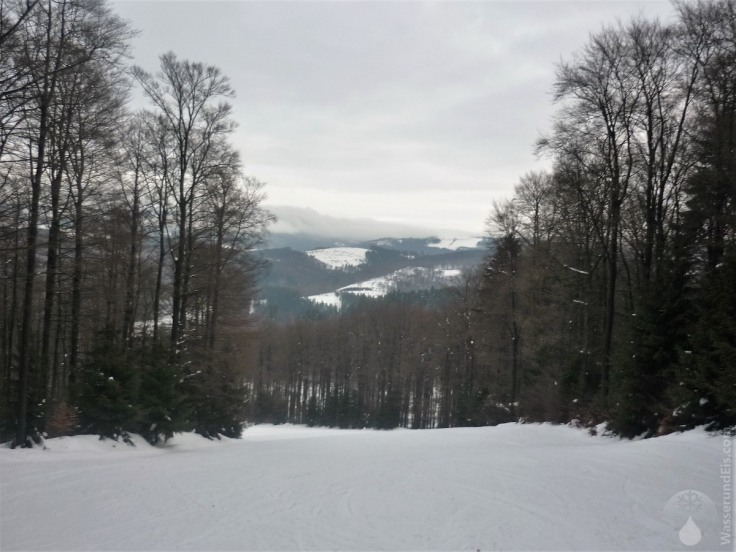 #Abfahrt Fort Fun Winterwelt Sessellift