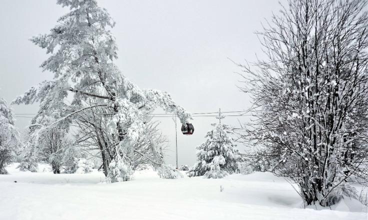 #Verschneite Hochheide Willingen Skigebiet
