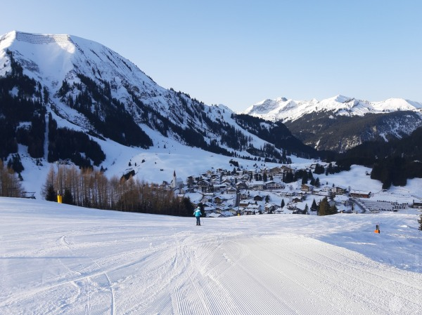 Familienabfahrt Skischaukel Berwanger Tal