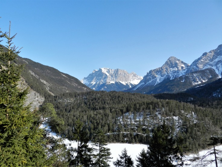 #Zugspitzblick Fernpass Blindsee 2020