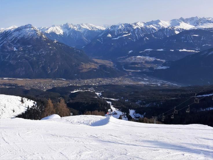 #Skigebiet Hochimst Aussicht Alpjoch 2020