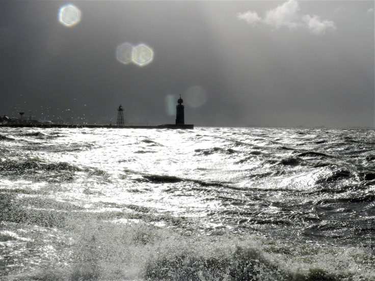 #Sturm Orkan Bremerhaven Leuchtturm