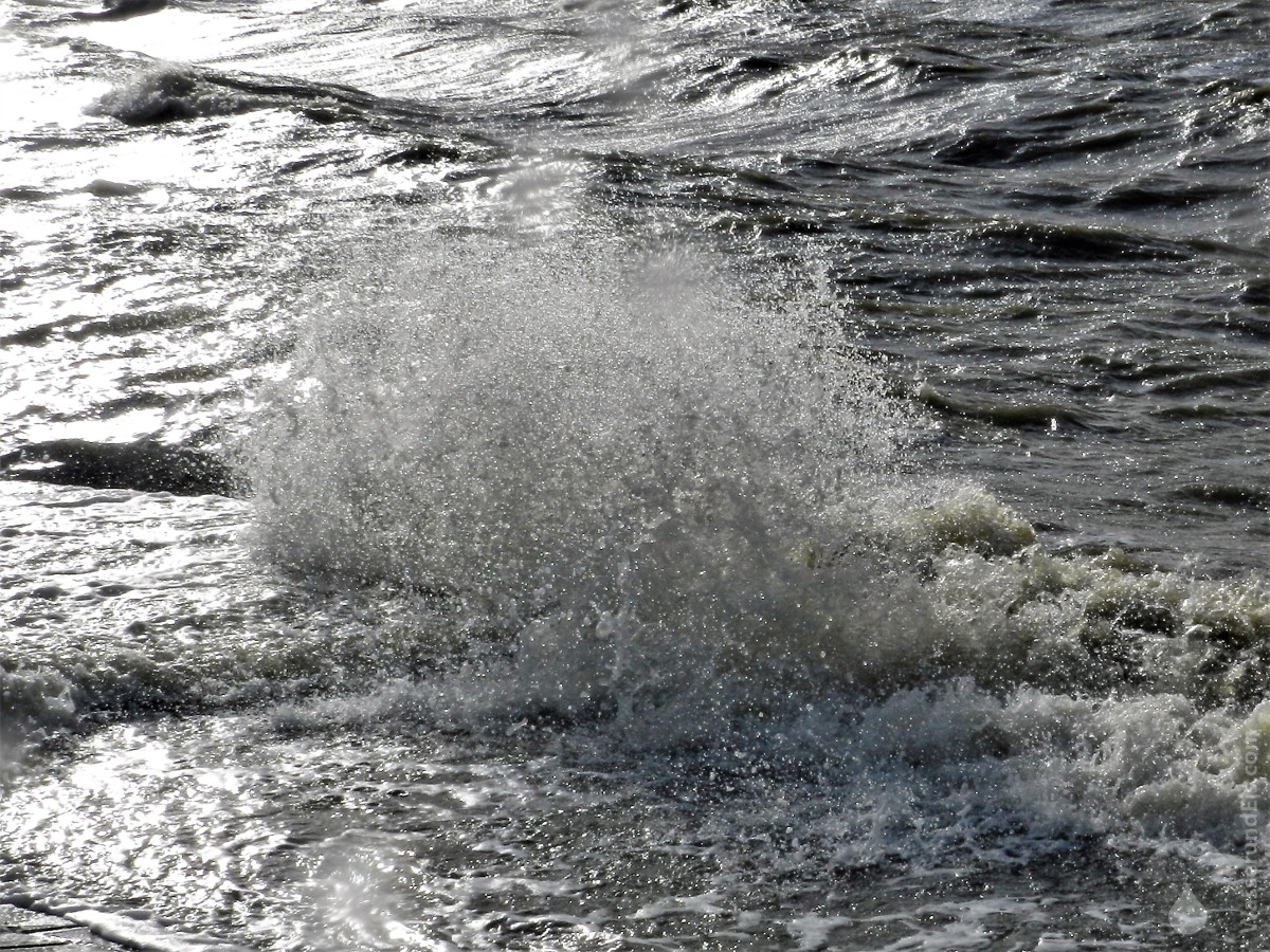 #Sturmflut Bremerhaven Nordsee Sabine