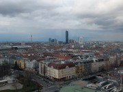 UN-City und Donauturm