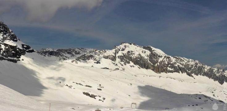#Panoramabild Wetterwandeck Zugspitze 2010