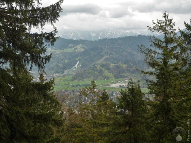 #Skisprungschanze Garmisch 2010