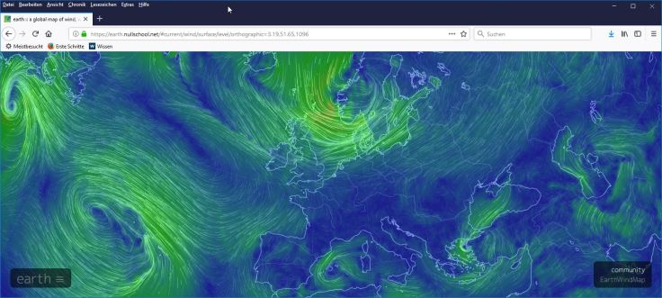 #a global map of wind, weather, and ocean conditions