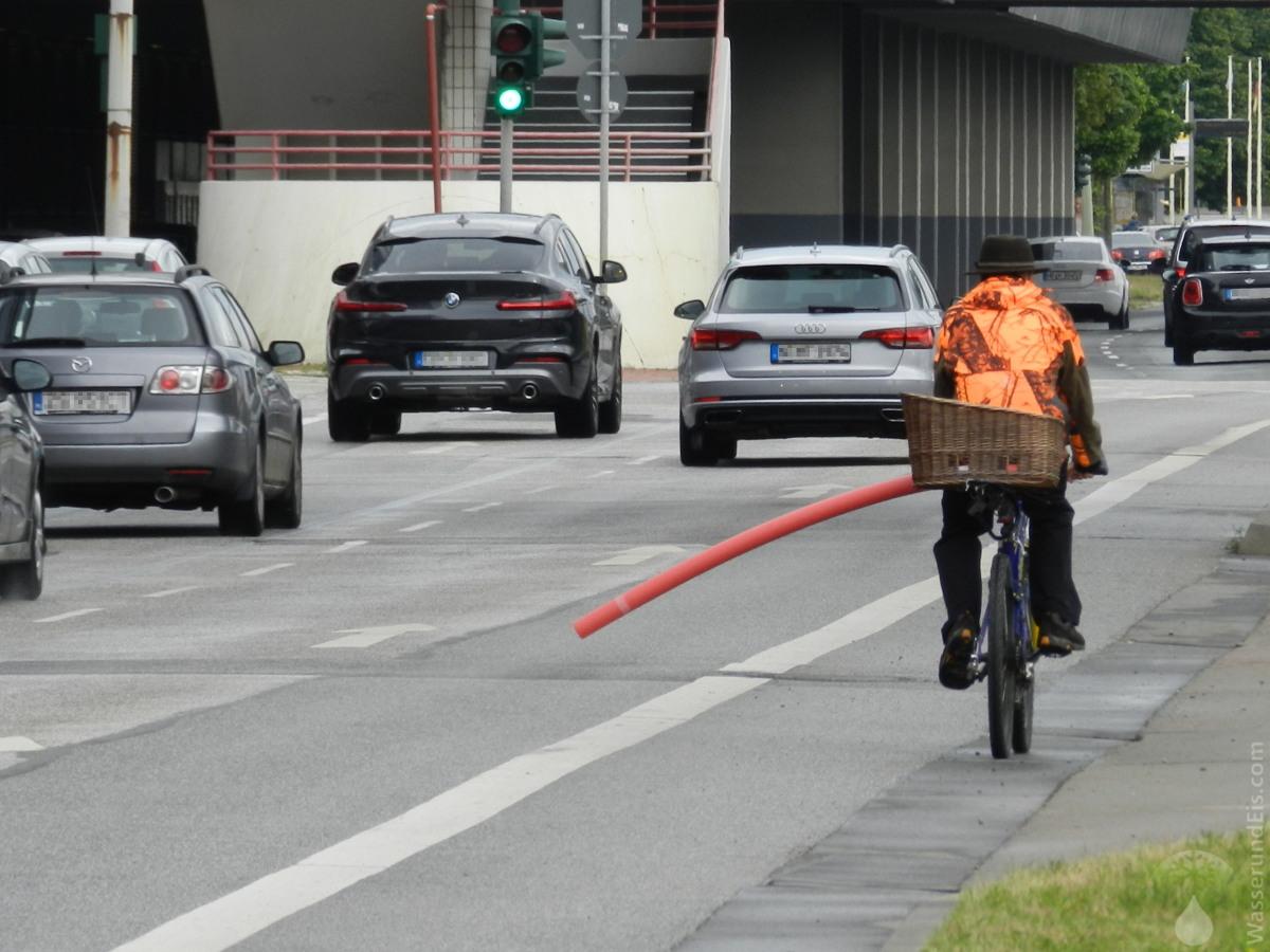 #Sicherheitsabtand Radfahrer Bremerhaven 2020