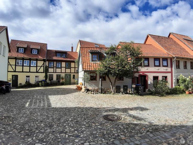 Wunderschöner Quedlinburger Münzenberg.