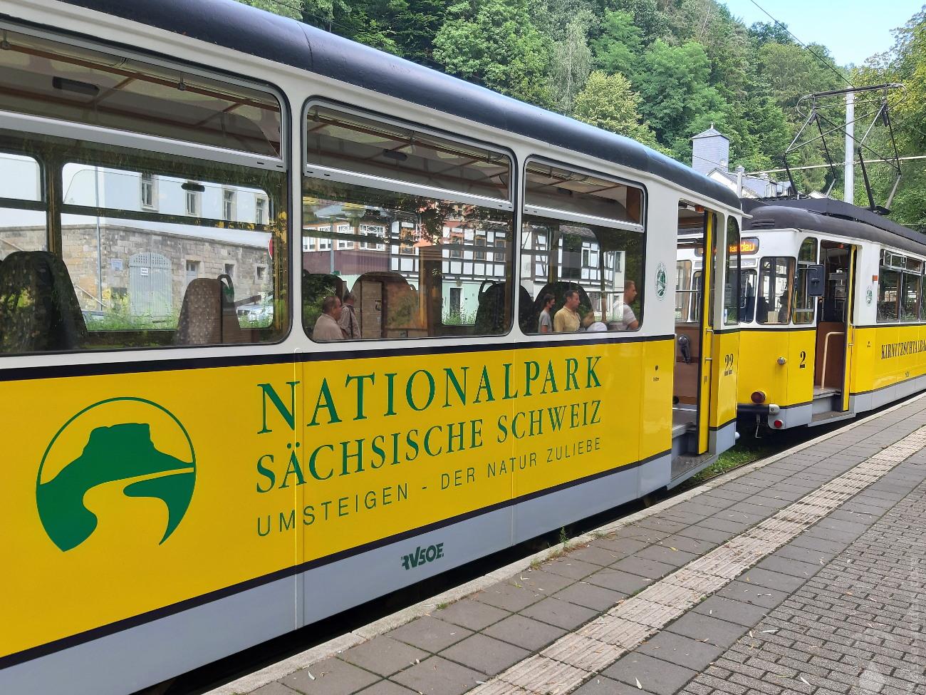 #Kirnitzschtalbahn Bad Schandau