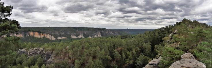 #Rauenstein Panorama Bastei