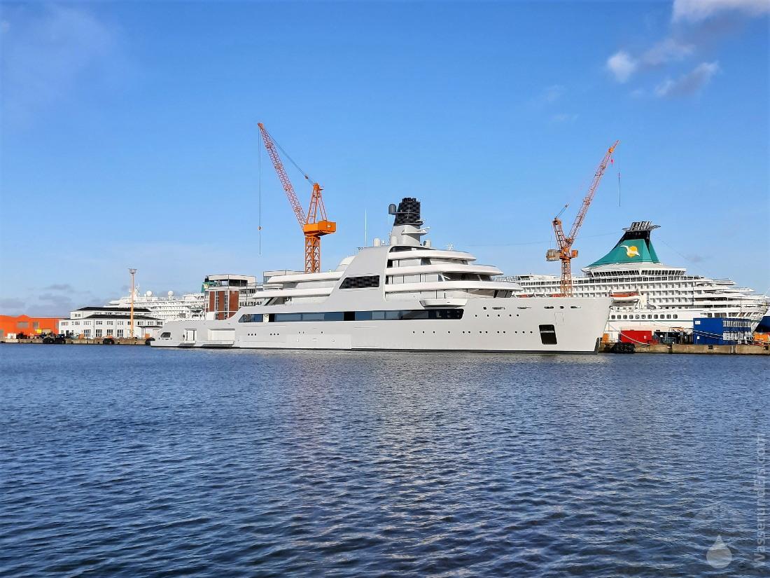 #Megayacht Solaris Bremerhaven 2021